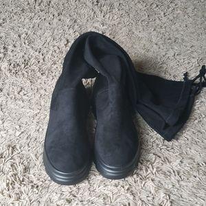 Stocking boots size 24.5 EU38, US 8